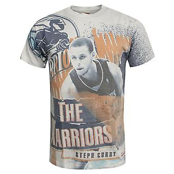 Mitchell & Ness Stephen Curry The Warriors T-Shirt Graphic Top GOLWAR
