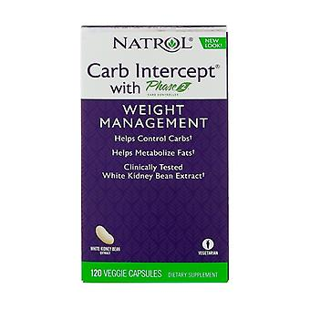 Carb Intercept with Phase 2 120 vegetable capsules
