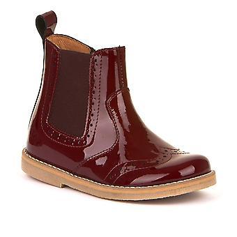 FRODDO Patent Chelsea Boot Bordeaux