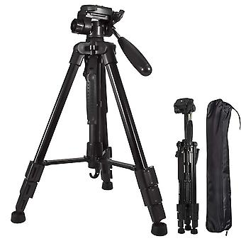 Aluminum camera tripod light weight adjustable 140cm 55 inch for canon nikon sony camera,camcorder,d
