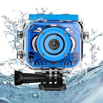 Kids underwater camera, welltop1080p hd waterproof kids camer action camera underwater video camcord