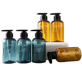 Soap Dispenser Bottle Bathroom Shampoo Bottle Large-capacity Press Type