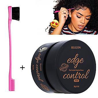 Hiusten reunan hallinta parantaa sotkuista hiusten muotoilugeeliä