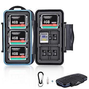 Memory Card Case Holder Storage Box Organizer For Sd Sdhc Sdxc Msd Micro Sd