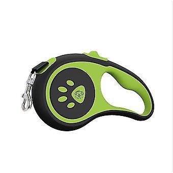 الكلب الجر حبل نايلون التلقائي قابل للسحب جهاز الجر المتوسطة والكبيرة الكلب المشي حبل لوازم الحيوانات الأليفة