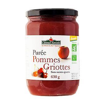 Morello cherry puree without sugar 630 g