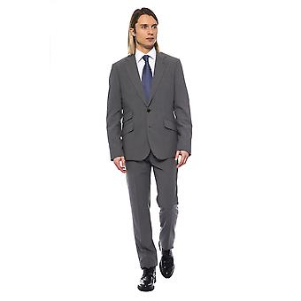 Billionaire Italian Couture Grich Lt Grey Suit