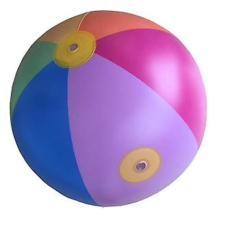 Children's Play Water Color Inflatable Ball