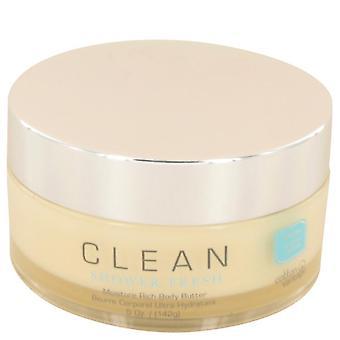 Clean Shower Fresh Rich Body Butter By Clean 5 oz Rich Body Butter