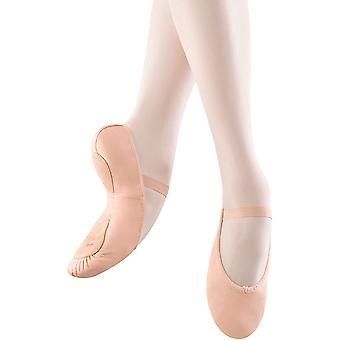 Bloch Dance Dansoft Split Sole Ballet Slipper - Little Kid (4-8 Years), 1 A US Little Kid