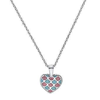 Prinzessin Lillifee Kinder Halskette Silber Zirkonia Herz Mädchen 2031156
