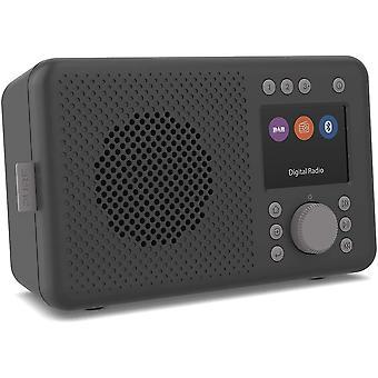 DZK ELAN DAB+ Portable DAB+ Radio with Bluetooth 5.0 (DAB/DAB+ and FM Radio, TFT Display