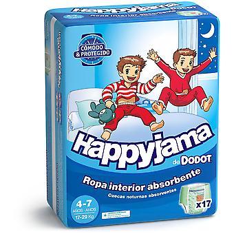 Dodot Happyjama Taille 4-7 Enfant 17 Unités