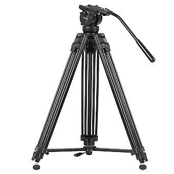 Alloy video photo tripod kit 360°panorama pan fluid ball head for dslr camera recorder dv