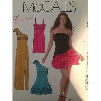 McCalls نمط الخياطة 6283 Misses اصطف فستان مساء حجم 14-20 Uncut
