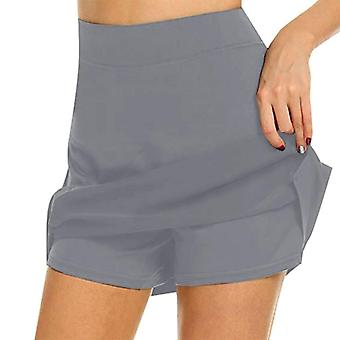 S-4xl Skirt, Ladies High Waist Slimming Short Skirt