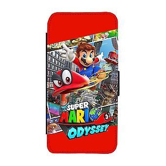 Mario Odyssey Samsung Galaxy A32 5G Wallet Case