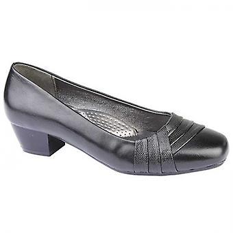 Boulevard Erin Ladies Court Shoes Black