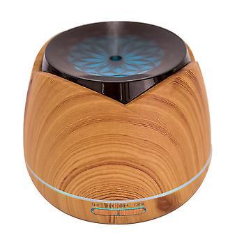 PNI HU180 aromaterapia diffuuseri eteeriset öljyt, ultraääni, 400 ml, ajastin, 7 väriä LED, automaattinen sulkeminen, Puujyvä