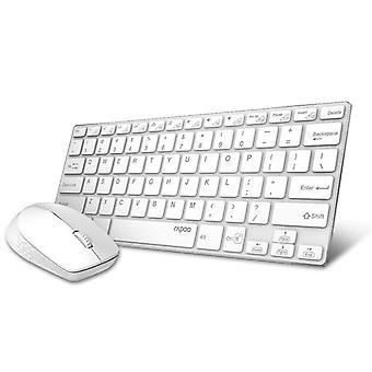 Wireless Keyboard Mouse Combos Keyboards(white)