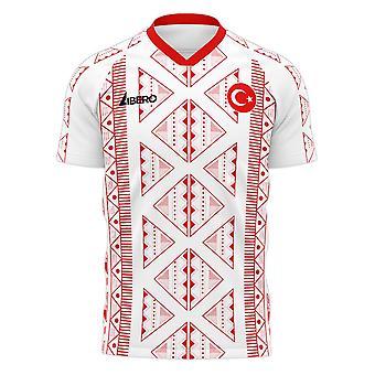 Turkey 2020-2021 Away Concept Football Kit (Libero) - Little Boys