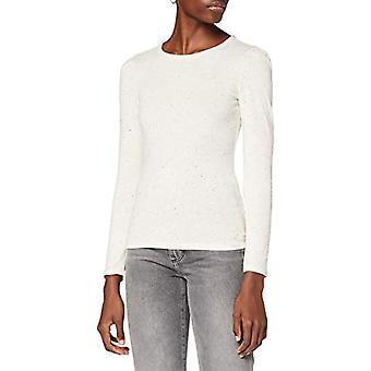 TOM SKRÄDDARE Denim Puff armel T-Shirt, 24979-Colorful Melan Cream, XS Kvinna