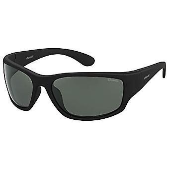 Polaroid PLD 7005/S RC YYV 63 Okulary przeciwsłoneczne, czarny (czarny guma/zielony Pz), męski
