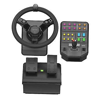 Logitech 945-000062, Steering Wheel + Pedals, Analog/Digital, 900°, Black