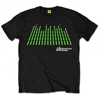 Abbey Road Studios EQ Logo Heren Zwart T Shirt: 4XL