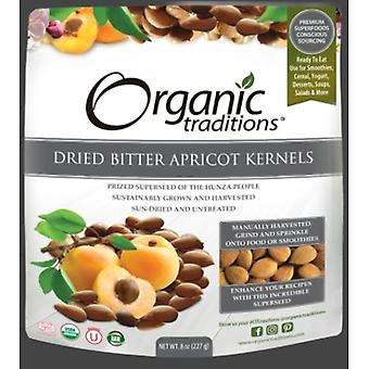Organic Traditions Dried Bitter Apricot Kernels, 8 Oz