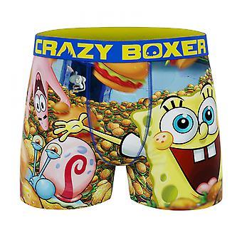 Crazy Boxer SpongeBob SquarePants Burger Men's Boxer Briefs