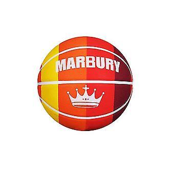 Colorido Rainbow Panel Regulación Mini baloncesto de goma para entrenamiento de tiro (GROUP3)
