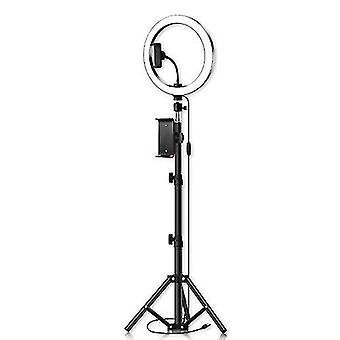 26cm/10inch inch LED Ring Light 3 Colors 10 Levels Dimmable 3200-5600K Color Temperature