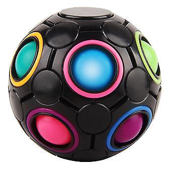 12 hole vinger regenboog magische bal kinderen verlichten stress reliever