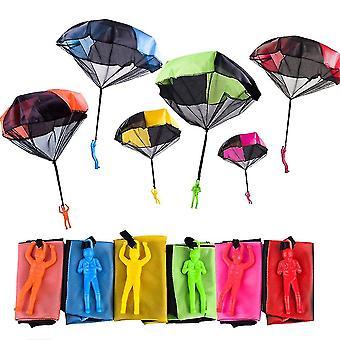 اليد ألقيت الجنود المظلة الأطفال المظلة الصغيرة رياض الأطفال المظلة ساحة الشاطئ