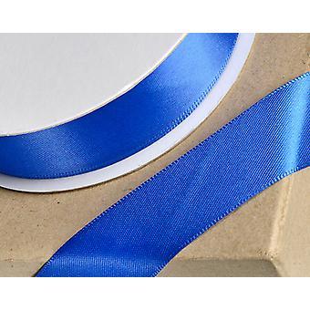 25m Royal Blue 38mm Wide Satin Ribbon voor ambachten