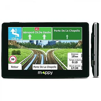 Mappy Iti E438 Sistema de navegación GPS con mapa de por vida