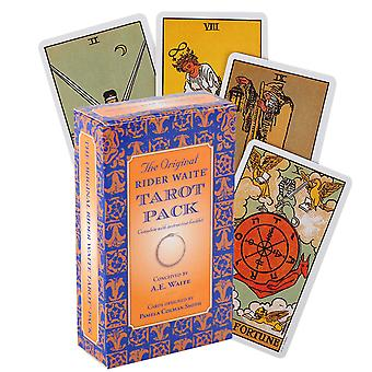 Tarot Card Game Deck Oracle Toy Divination Mystery Riding Party Guide Brain