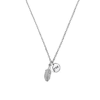 s.Oliver Jewel Damen Kette Halskette Silber Feder 2032573