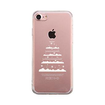 Christmas Tree Transparent Phone Case Cute Clear Phonecase