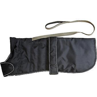 Dog apparel harness dog coat black 60cm 24''
