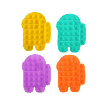 2pcspush Pop Bubble Fidget Among Us Sensory Toy