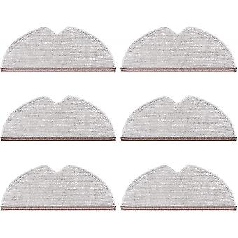 6pcs Cleaning Cloths For Xiaomi Roborock Sweeping Robot Cleaning Cloth
