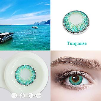 Vivideye Color Contact Lenses Cosmetics Eye Contacts With Gr
