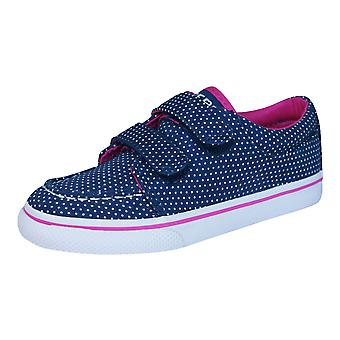 Sperry Hallie H and L Toddlers / Girls Deck / Boat  Shoes - Navy