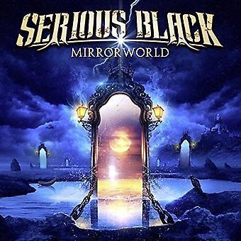 深刻なブラック - Mirrorworld [観音開きビニール] [ビニール] アメリカ インポートします。