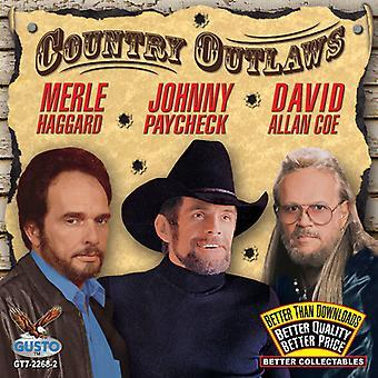 Haggard/lön/Coe - land Outlaws [CD] USA import