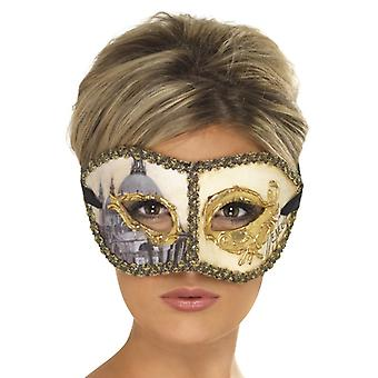 Venetiaanse Colombina motief Venetië oog masker