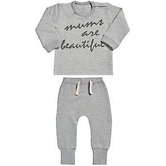 Spoilt Rotten Mum's Are Beautiful Sweatshirt & Joggers Baby Outfit Set