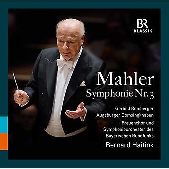 Gustav Mahler / Haitink / Romberger - Gustav Mahler: Symphony 3 [CD] USA import